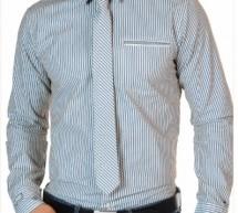 Chemise + cravate l'élégance même !