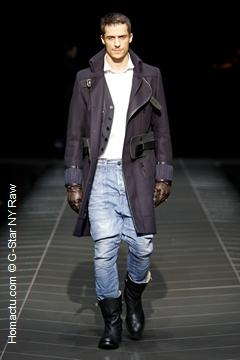 mode homme G-Star NY Raw