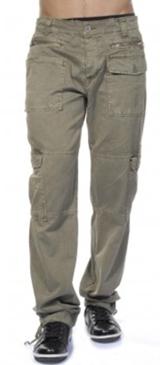 Pantalons-toile