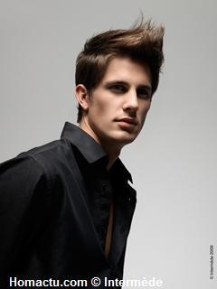 Intermède, coiffure homme été 2009