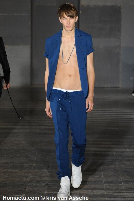 kris van Assche mode homme été 2009