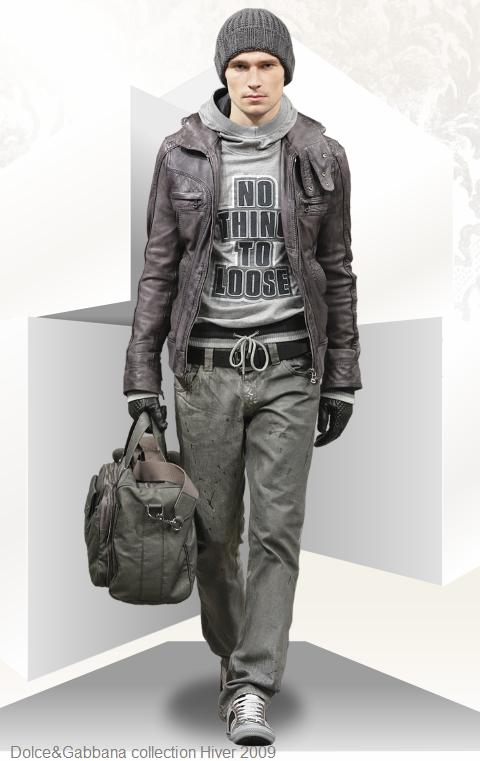 Dolce & Gabbana homme collection hiver 2009