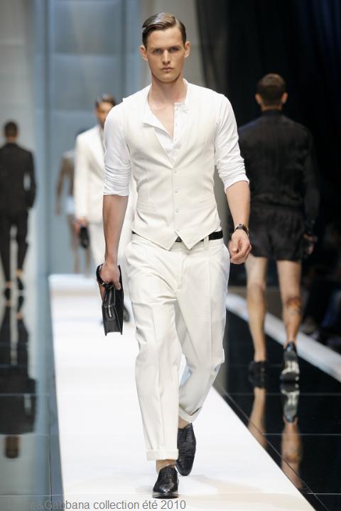 Dolce & Gabbana collection homme été 2010