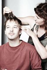 Diagnostic coiffure homme