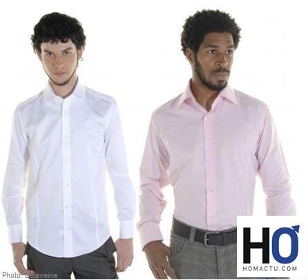 idée cadeaux hommes, la chemise homme