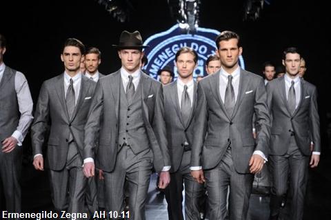 Ermenegildo Zegna, fashion week Milan, mode masculine hiver 2010-2011