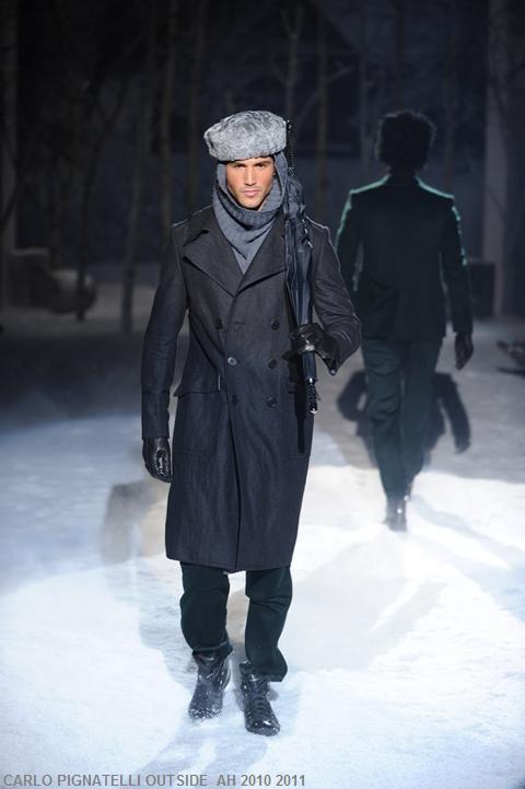 Mode homme à Milan: l'homme opte pour une élégance nonchalante, très cosy