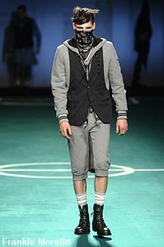 Frankie Morello, mode masculine