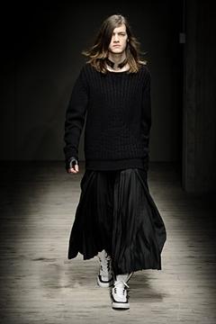 Giuliano Fujiwara, mode homme hiver 2010- 2011, fashion week Milan