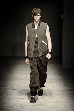 Giuliano Fujiwara, mode masculine hiver 2010- 2011, fashion week Milan