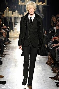 John Varvatos, fashion week Milan, mode homme hiver 2010-2011