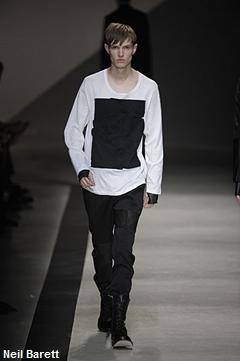 Neil Barett, fashion week Milan,