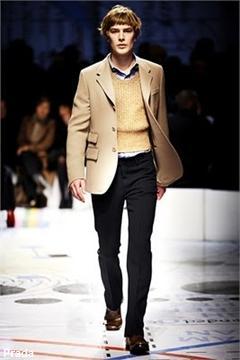 Prada Homme, fashion week Milan, automne-hiver 2010-2011