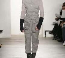 Timberland et le créateur Richard Chai lors de la dernière fashion week de New York.