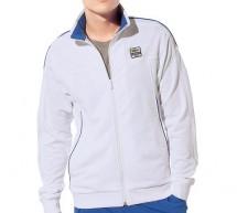 Lacoste, le Sweatshirt Andy Roddick col montant zippé