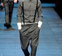DOLCE & GABBANA, mode homme, automne hiver 2011-2012