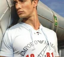 Emporio Armani, le T-shirt lacets Girocollo