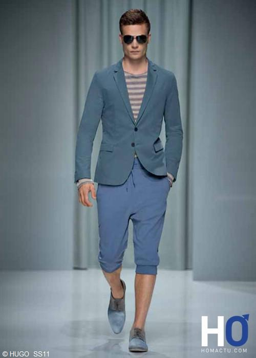 HUGO, collection homme printemps été 2011