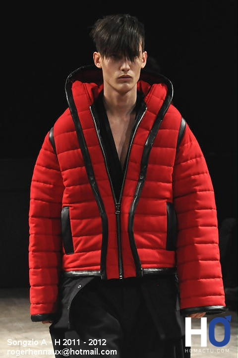 Mode homme automne-hiver, Songzio
