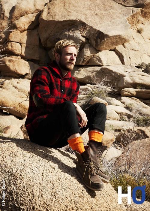 Happy Socks, marque suédoise de chaussettes colorées et branchées !