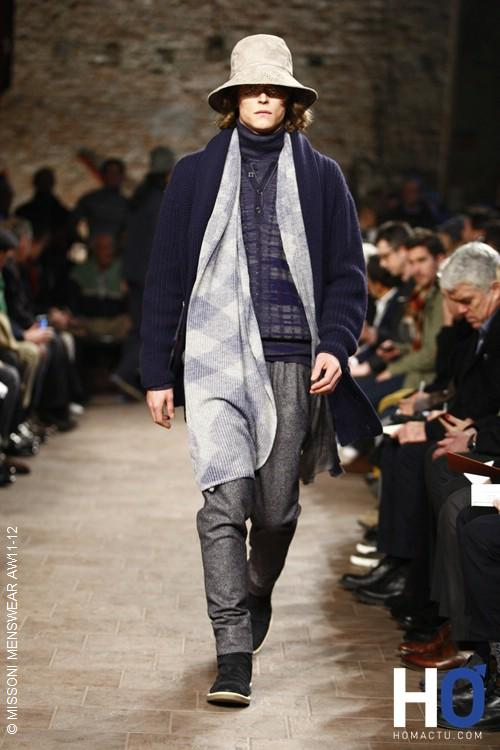 Missoni, collection homme automne hiver 2011-2012
