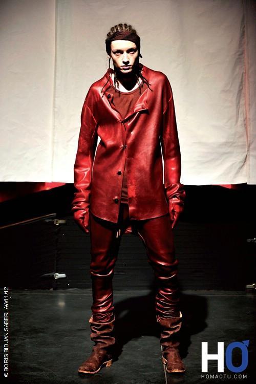Boris Bidjan Saberi, mode homme, automne hiver 11/12