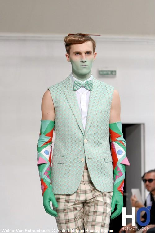 Walter Van Beirendonck, Fashion week Paris, mode homme printemps été 2012