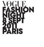 Fashion Night 2011 à Paris.
