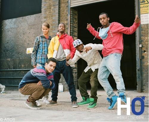 ASOS lance sa première campagne de marketing digital pour ses collections masculines Automne Hiver 2011.