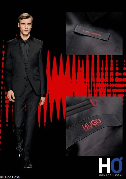 Le costume SUPER BLACK de HUGO