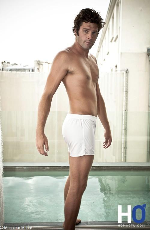Monsieur Moore, une nouvelle marque pour homme - sous-vêtements chic et sobre