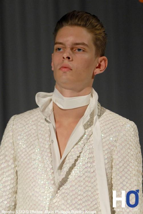 Rynshu, mode homme, été 2012
