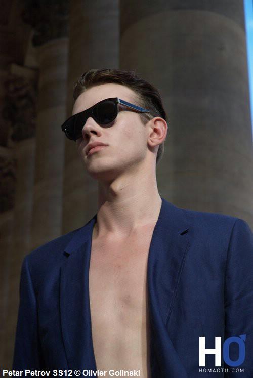 Petar Petrov, été 2012, mode masculine