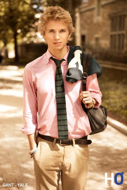 chemises homme  de l'université américaine de YALE par GANT