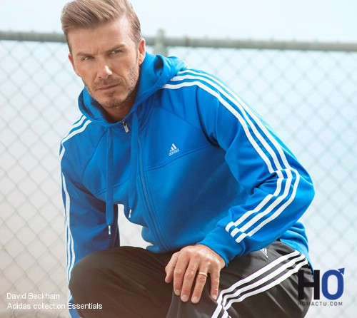 Adidas, collection Essentials avec David Beckham