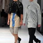 Défilé de l'école de stylisme La Cambre de Bruxelles (4)