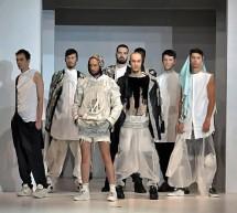 Louis Gabriel Nouchi, Défilé de l'école de stylisme La Cambre de Bruxelles