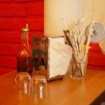 La table et ses accesoires