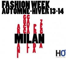 FASHION WEEK MILAN A/W 2013/14