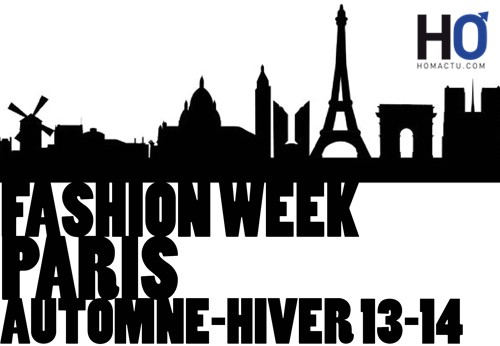 FASHION WEEK PARIS13-14PF