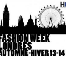 FASHION WEEK LONDRES A/W 2013/14