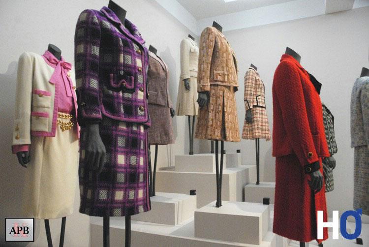 Tailleur en tweed