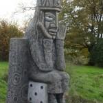 Robert Tatin: Sculpture allée