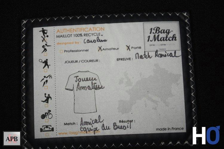 Certificat d'authentification