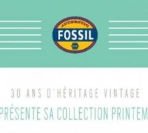 FOSSIL PRÉSENTE SA COLLECTION PRINTEMPS 2014.