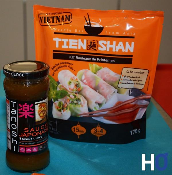 Kit rouleaux de printemps & Sauce japonaise