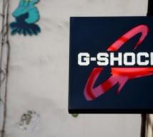 G-SHOCK à Paris, après Tokyo, Londres, New York et Taipei !