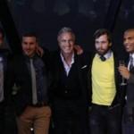 Un invité de marque attendait Benoit, Eliot, Ricardo et Antoine à Londres : Monsieur David Ginola !