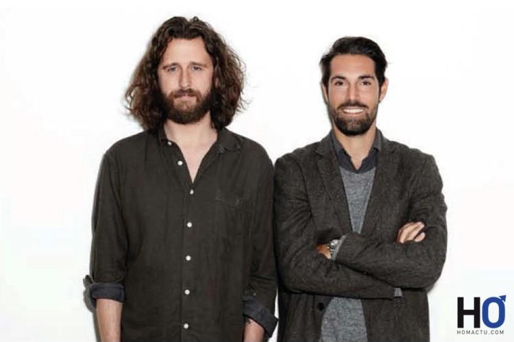 Les cofondateur:Viktor Tell , directeur artistique & Mikael Söderlindh,  PDG
