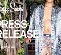 HAPPY SOCKS se lance dans l'Underwear!